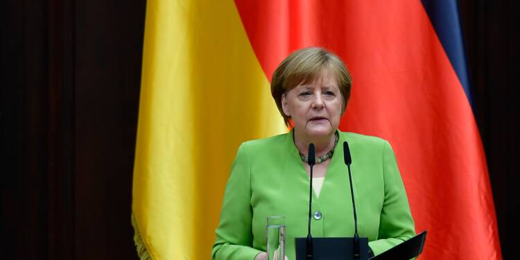 "Automobile: Merkel met Trump en garde contre une ""guerre"" commerciale"