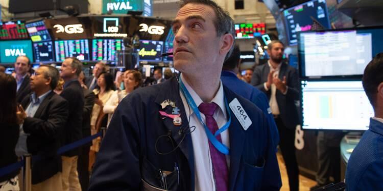 Wall Street rattrapée par les craintes d'une guerre commerciale