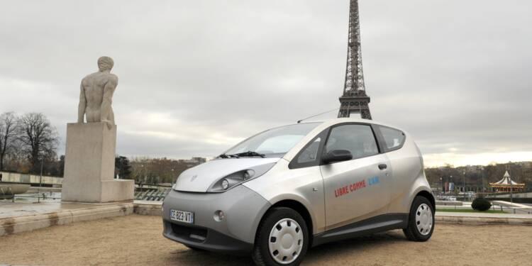Des véhicules électriques d'Autolib vendus aux enchères en Sologne