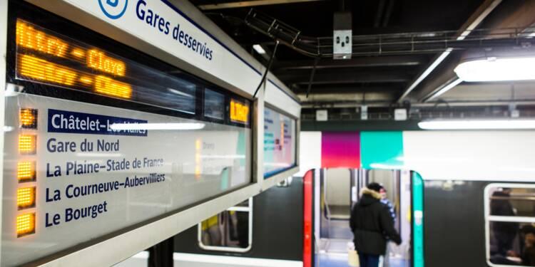 Déraillement du RER B: la RATP va rembourser la moitié des abonnements