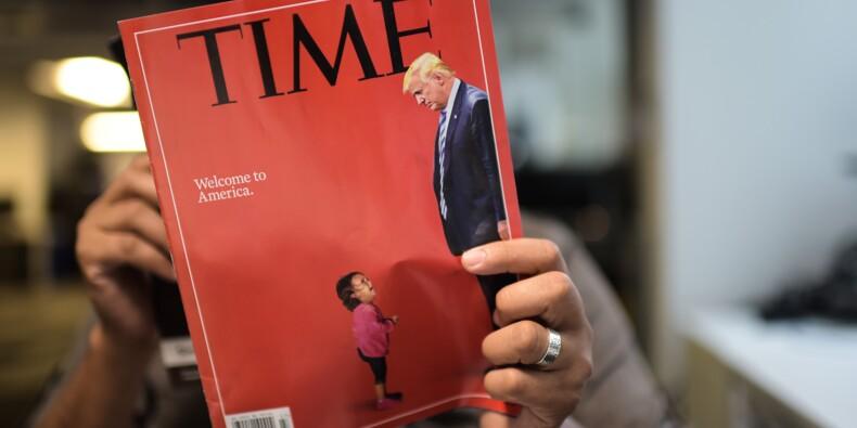 Les fausses images d'enfants séparés de leurs parents après un franchissement illégal de la frontière USA-Mexique