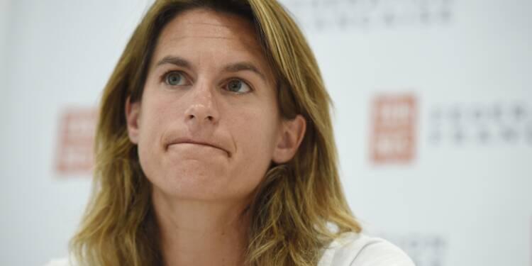Coupe Davis: Amélie Mauresmo, première capitaine de l'équipe de France
