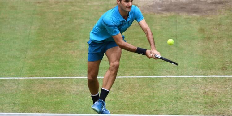 Tennis: à Halle, Coric gâche la fête de Federer