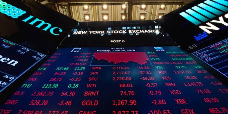 Wall Street succombe aux tensions entre les USA et la Chine