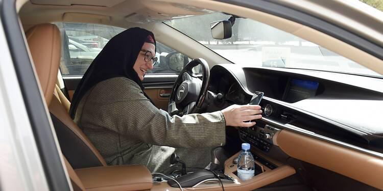 """""""Je peux le faire"""": à Ryad, la première course de Rim... comme conductrice"""
