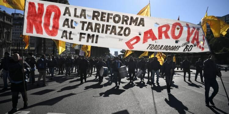 Argentine: grève générale contre la rigueur et le FMI