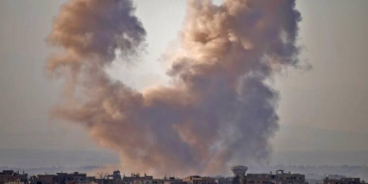 Syrie: raids meurtiers sur le sud, crainte d'une nouvelle crise humanitaire