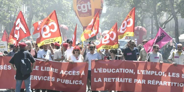 SNCF: mobilisation modeste dans la rue et sur les quais