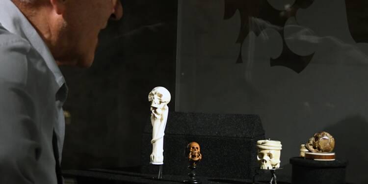 A Toulouse, l'étonnante collection de crânes de la baronne Henri de Rothschild