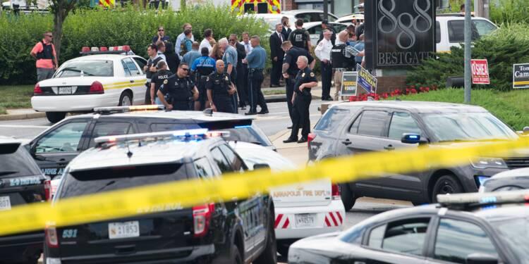 Un homme tue cinq personnes dans un journal aux Etats-Unis