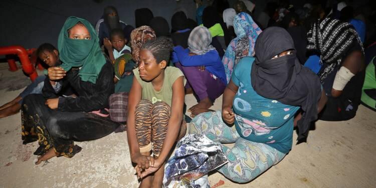 Libye: trois bébés morts, une centaine de disparus dans un naufrage