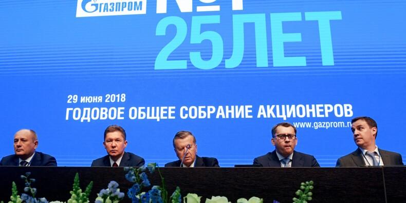 Gazprom approche un nouveau record d'exportations vers l'Europe en 2018