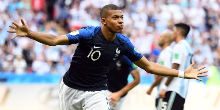 Mondial-2018: la France de Mbappé élimine l'Argentine, mais si !