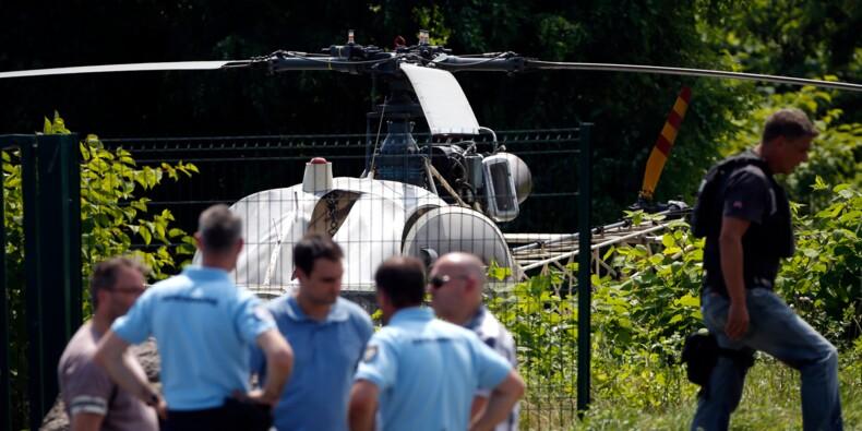 Redoine Faïd toujours en cavale après son évasion en hélicoptère