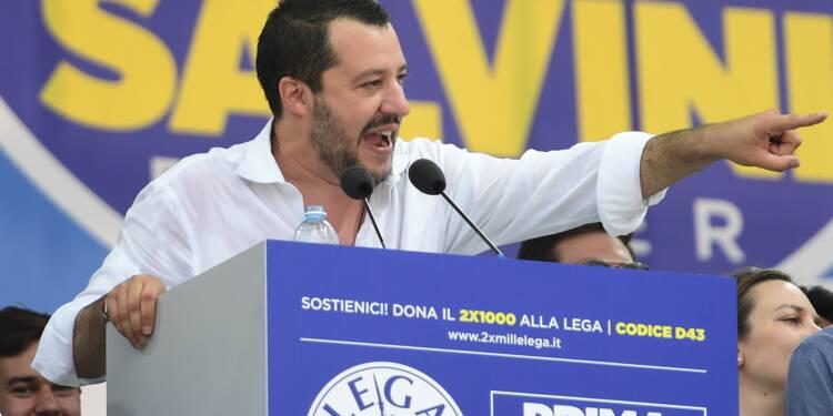 """Italie: Salvini lance l'idée d'une """"Ligue des Ligues"""" en Europe"""