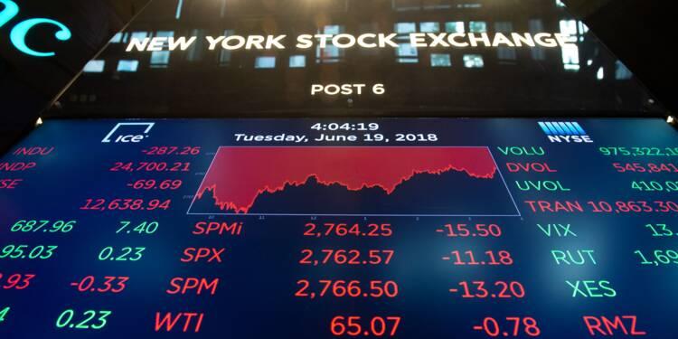 Wall Street termine en hausse, aidée par des propos de Trump