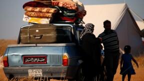 Dans le sud syrien, des déplacés échoués près d'une frontière fermée