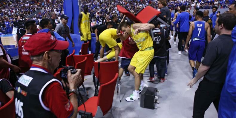 Bagarre lors d'un match de basket Philippines-Australie: l'heure des excuses
