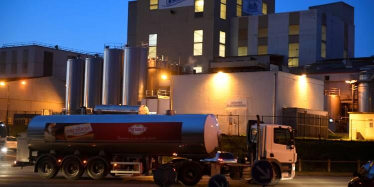 """Lactalis: l'usine de Craon réautorisée à produire du lait infantile, Foodwatch """"choquée"""""""