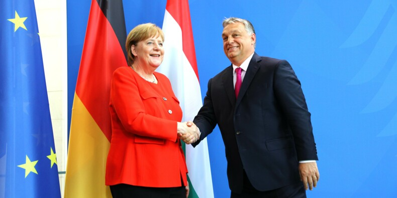 "Migrants: Merkel et Orban s'opposent sur les ""valeurs"" de l'Europe"