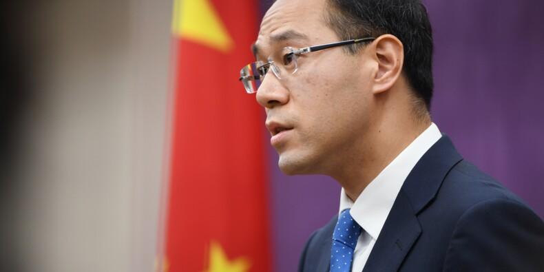 """Guerre commerciale : la Chine """"ne cédera pas à la menace ni au chantage"""""""