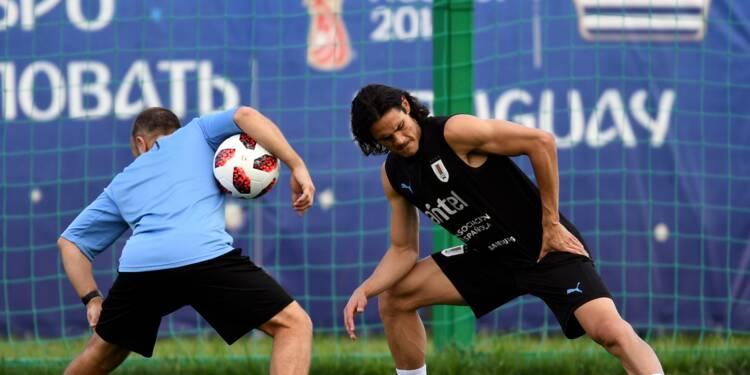 Uruguay-France: Cavani forfait, Tolisso titularisé