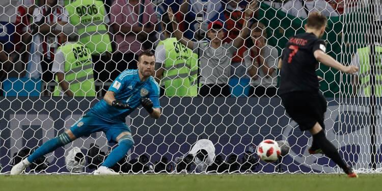 Mondial: la Croatie, laborieuse, s'offre une deuxième demi-finale