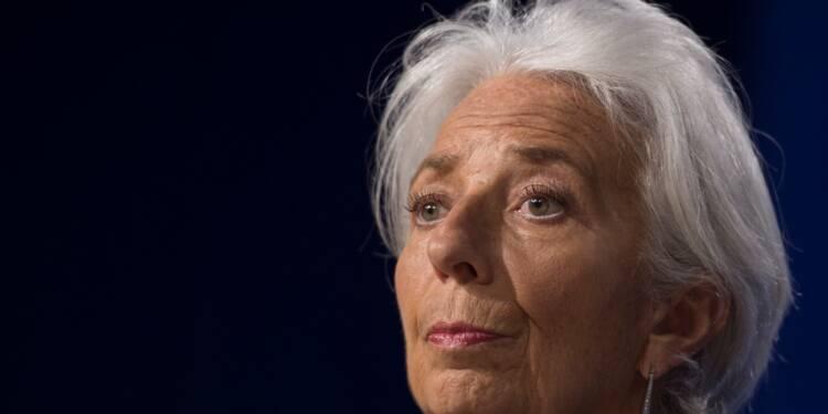 """Guerre commerciale : pour Lagarde (FMI), l'UE a une """"carte à jouer"""""""