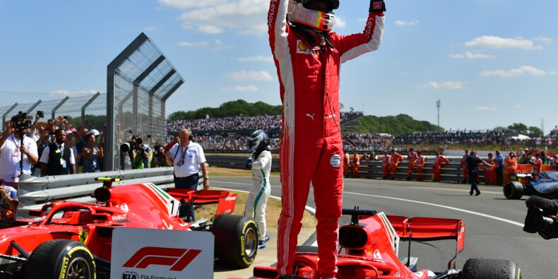GP de Grande-Bretagne: Vettel (Ferrari) gagne devant Hamilton (Mercedes)