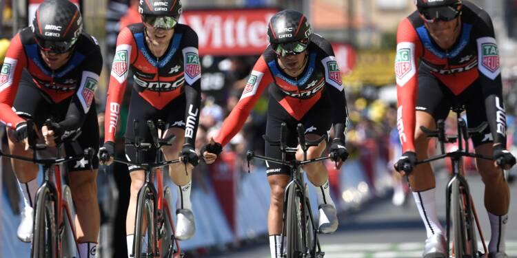 Tour de France: BMC lance Van Avermaet vers le jaune