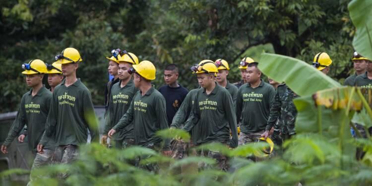 Grotte en Thaïlande : huit jeunes sur 13 désormais sauvés