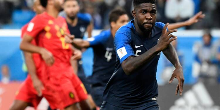 Mondial: La France en finale, en éliminant la Belgique (1-0)