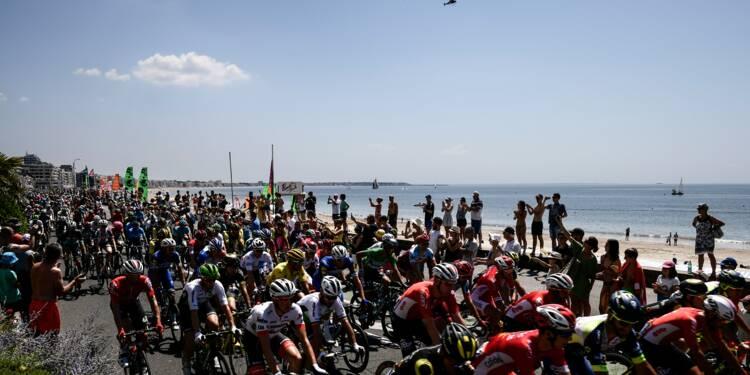 Tour de France: à l'assaut de la plus longue ligne droite