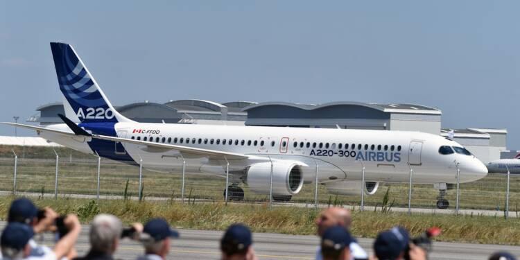 Nouveau membre de la famille Airbus: l'A220, ex-CSeries de Bombardier
