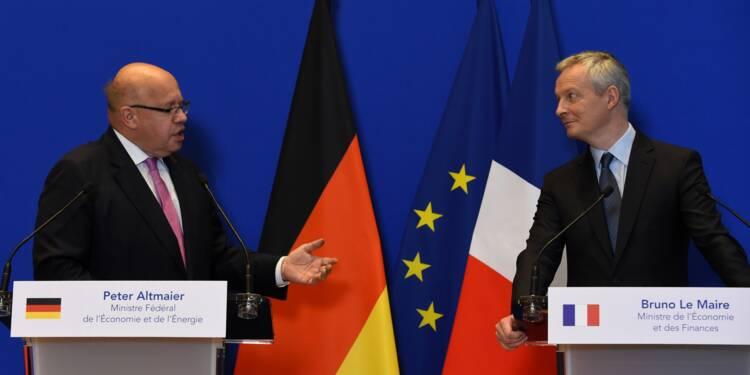 """Tensions commerciales, France et Allemagne """"main dans la main"""""""