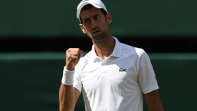 Wimbledon: Djokovic en demi-finales, une 1re en Grand Chelem depuis 2016