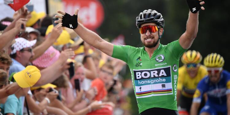 Tour de France: deuxième victoire pour Sagan