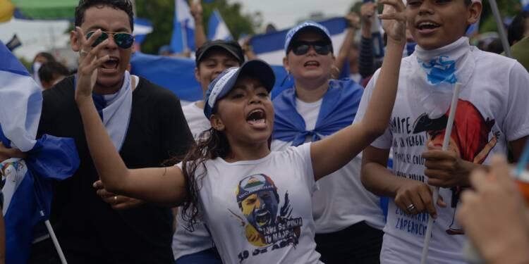 Nicaragua: l'opposition a défilé pour exiger le départ d'Ortega, 5 morts