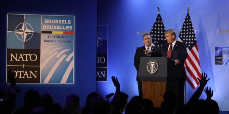 Dépenses militaires: Trump affirme avoir fait plier les Alliés