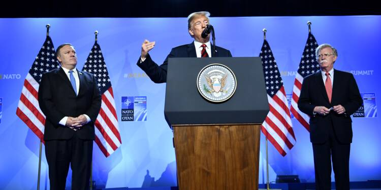 """Trump rassure les Alliés: """"Je crois en l'Otan"""""""