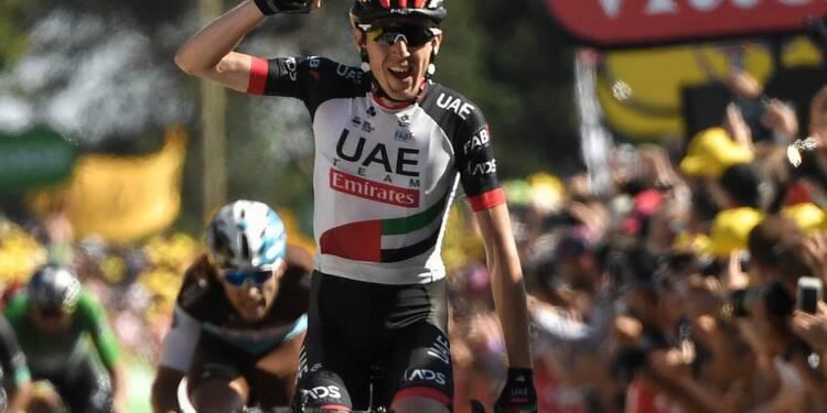 Tour de France: Dan Martin vainqueur de la 6e étape, Van Avermaet reste en jaune