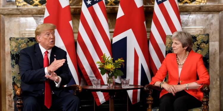 Brexit: Trump revient sur ses critiques contre May et fait rebondir la livre