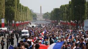 """Bleus: un """"dispositif exceptionnel de sécurisation"""" sur les Champs-Elysées"""