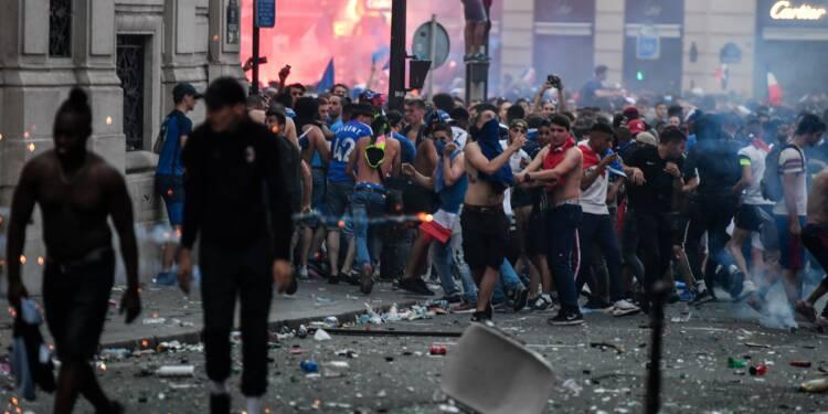 Finale du Mondial-2018: 292 gardes à vue dans toute la France, dont 90 à Paris
