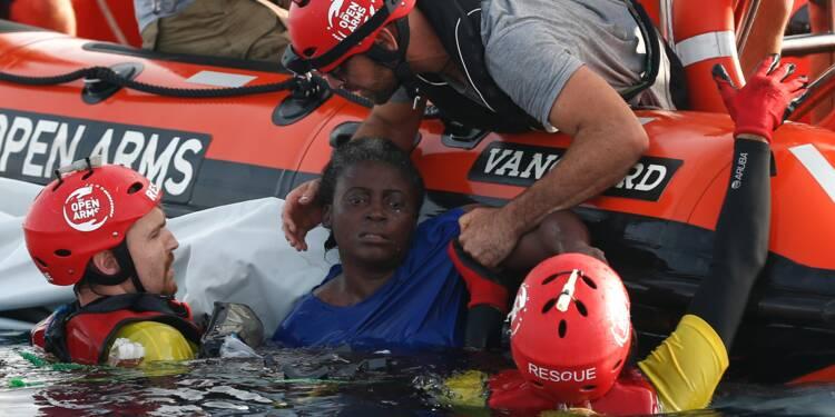 Au large de la Libye, une miraculée, deux morts et beaucoup de questions