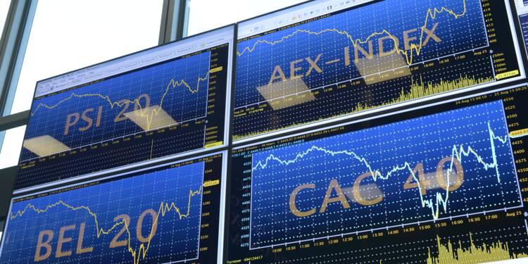 La Bourse de Paris termine dans le vert, aidée par la croissance américaine (+0,57%)