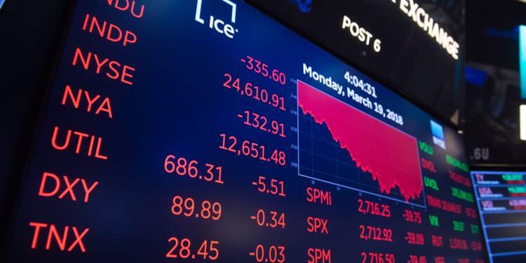 Wall Street, portée par des résultats et les taux, ouvre en hausse