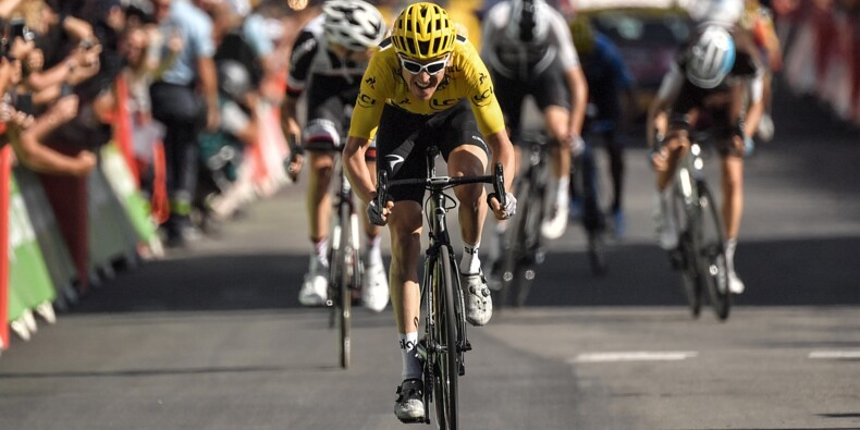 Tour de France: Thomas gagne au sprint à l'Alpe d'Huez
