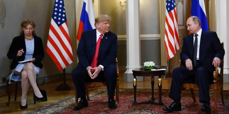 Trump plaide le lapsus — Ingérence russe