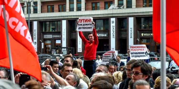 Russie : l'impopulaire réforme des retraites passe en première lecture